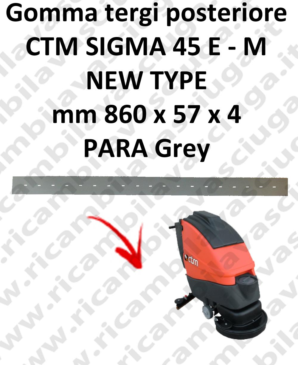 SIGMA 45 E/M new type - GOMMA TERGI lavapavimenti posteriore per CTM