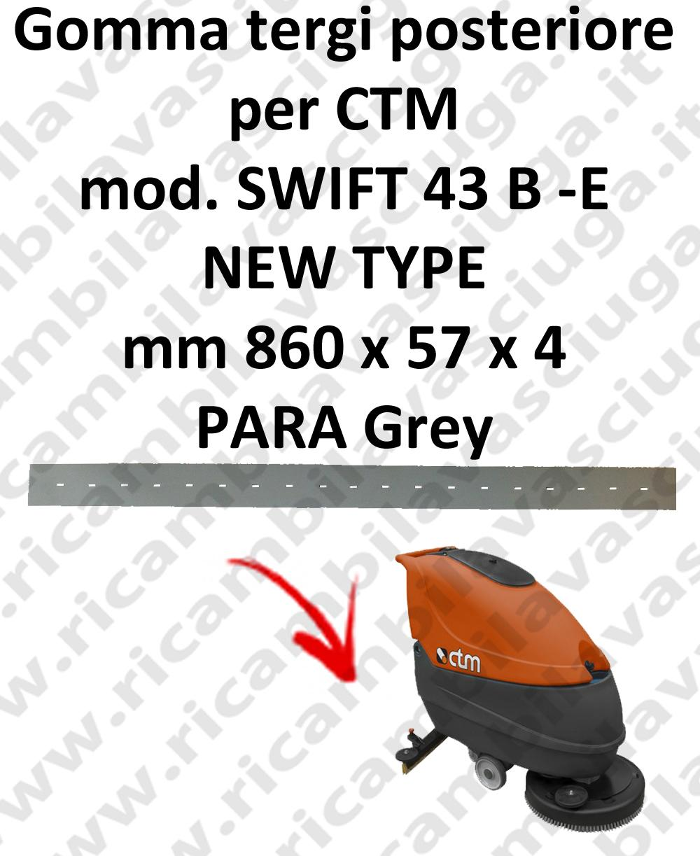 SWIFT 43 B - E new type GOMMA TERGI lavapavimenti posteriore per CTM