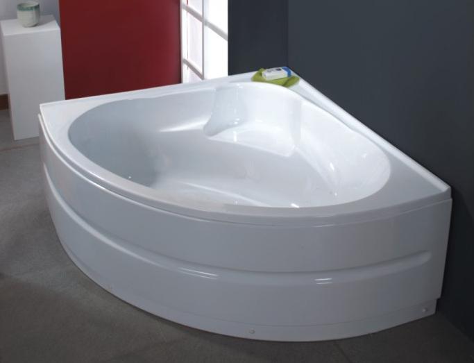 Vasca da bagno semplice in abs rinforzato 135x135 - Dimensioni vasche da bagno angolari ...