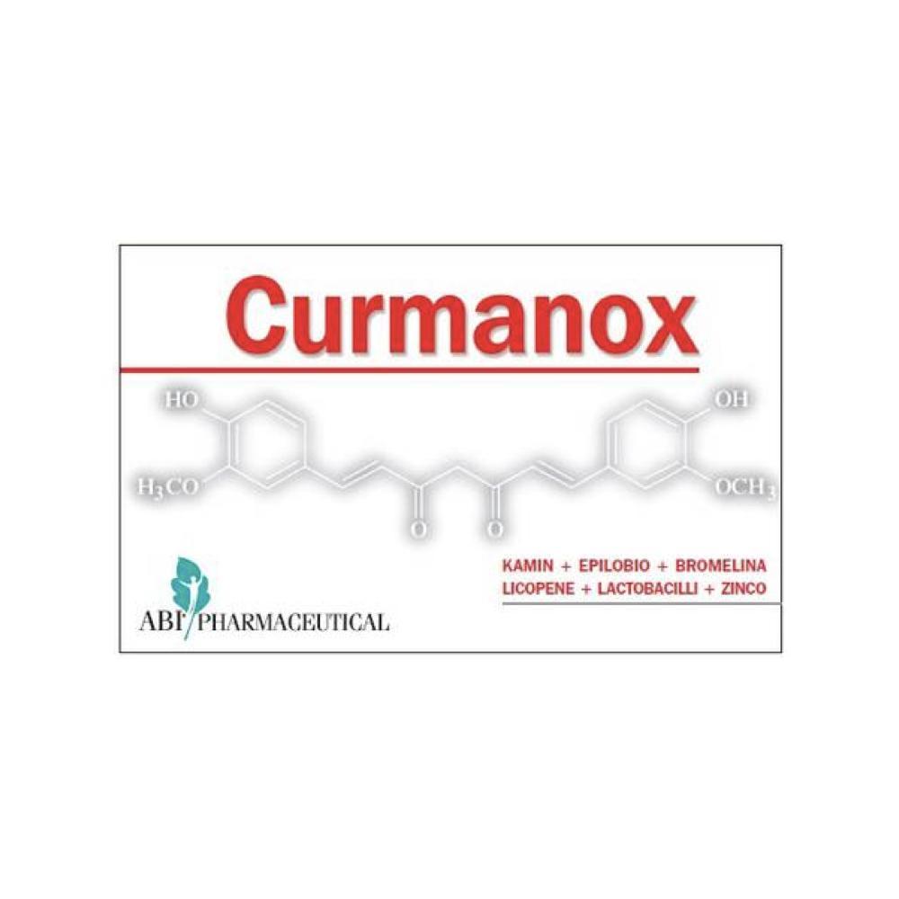 CURMANOX - INTEGRATORE A BASE DI ESTRATTO NATURALI PER IL BENESSERE DELLA PROSTATA