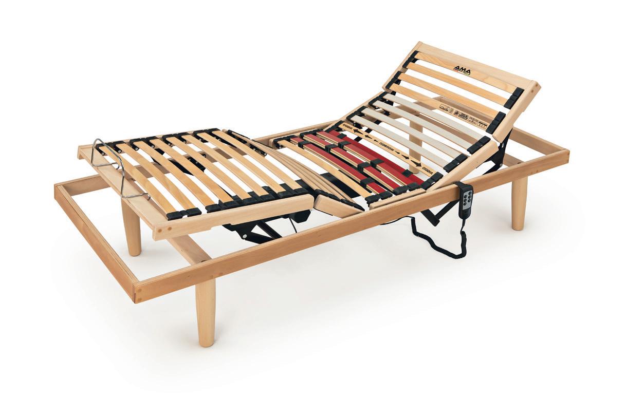 Reti a doghe in legno Motorizzate - Modello Ginestra