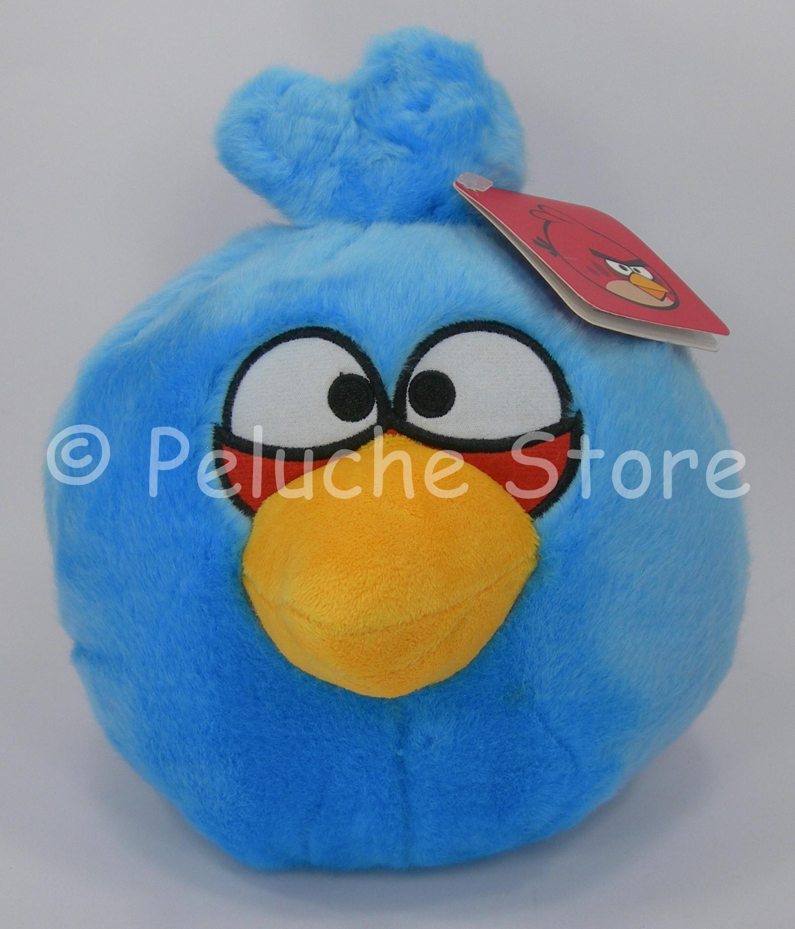Angry Birds Blue peluche 25 cm velluto supersoft Originale