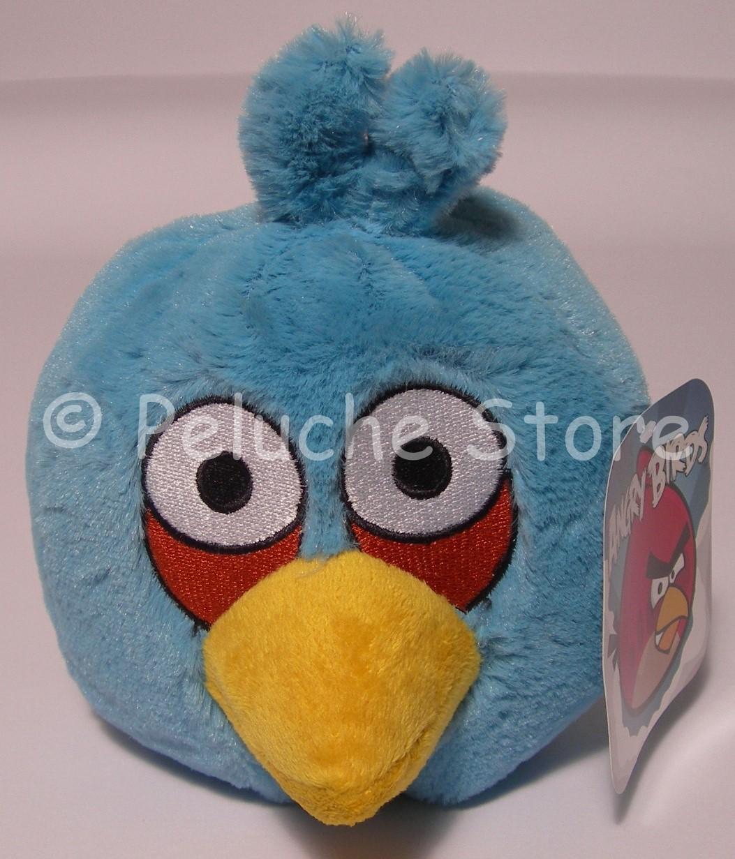 Angry Birds Blue azzurro peluche 15 cm Qualità velluto Originale