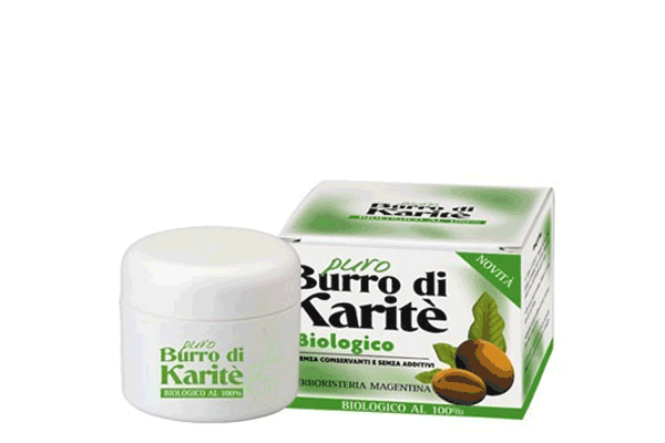 PURO BURRO DI KARITE' BIOLOGICO 50 ML