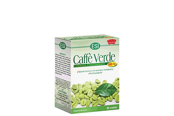 Integratore antiossidante e per il controllo del peso - Caffè Verde 500 mg