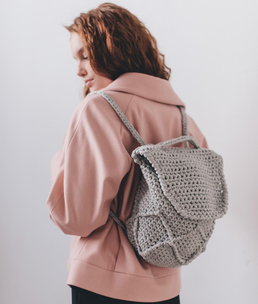 HANDBAGS & CLUTHES - Bags  - DIAMOND BACKPACK - 1