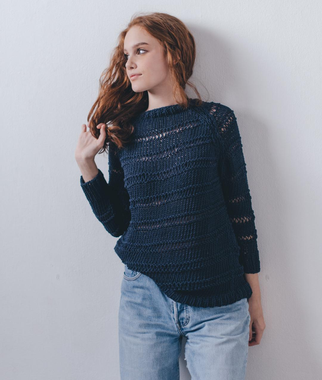 Sweaters and Tops - Cotton - Georgia Sweater - 1