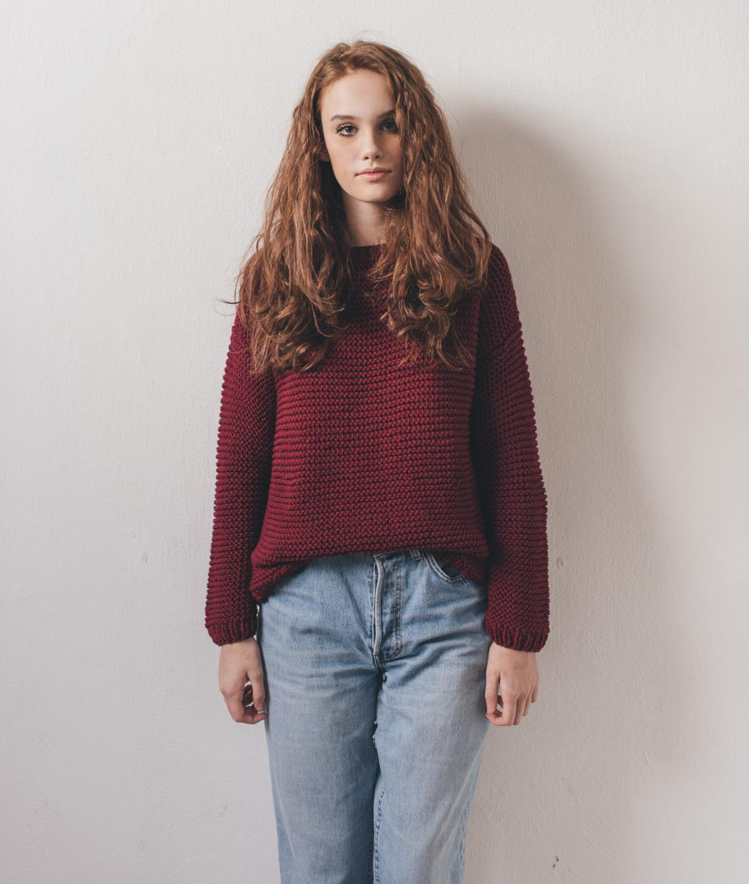 Sweaters and Tops - Cotton - Carmen Sweater - 1