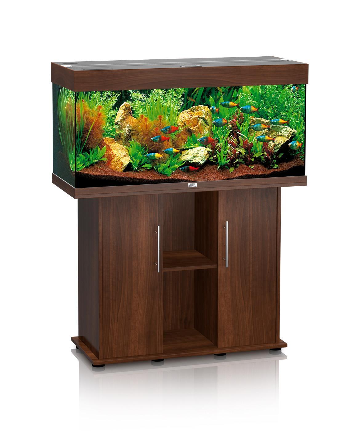 Supporto acquario juwel rio 180 lt colore darkwood re for Mobile per acquario