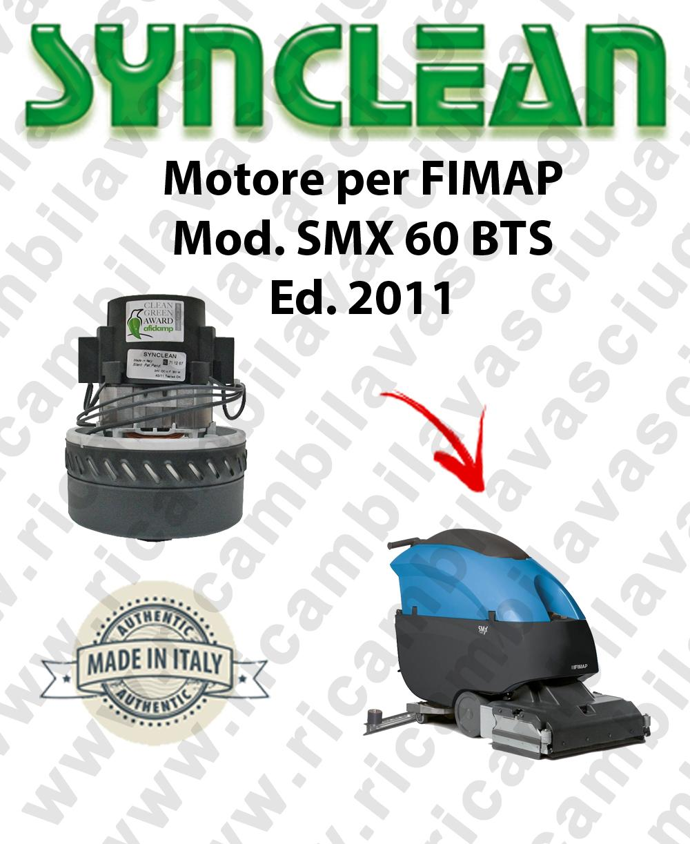 SMX 60 BTS Ed. 2011 MOTORE aspirazione LAMB AMETEK lavapavimenti FIMAP