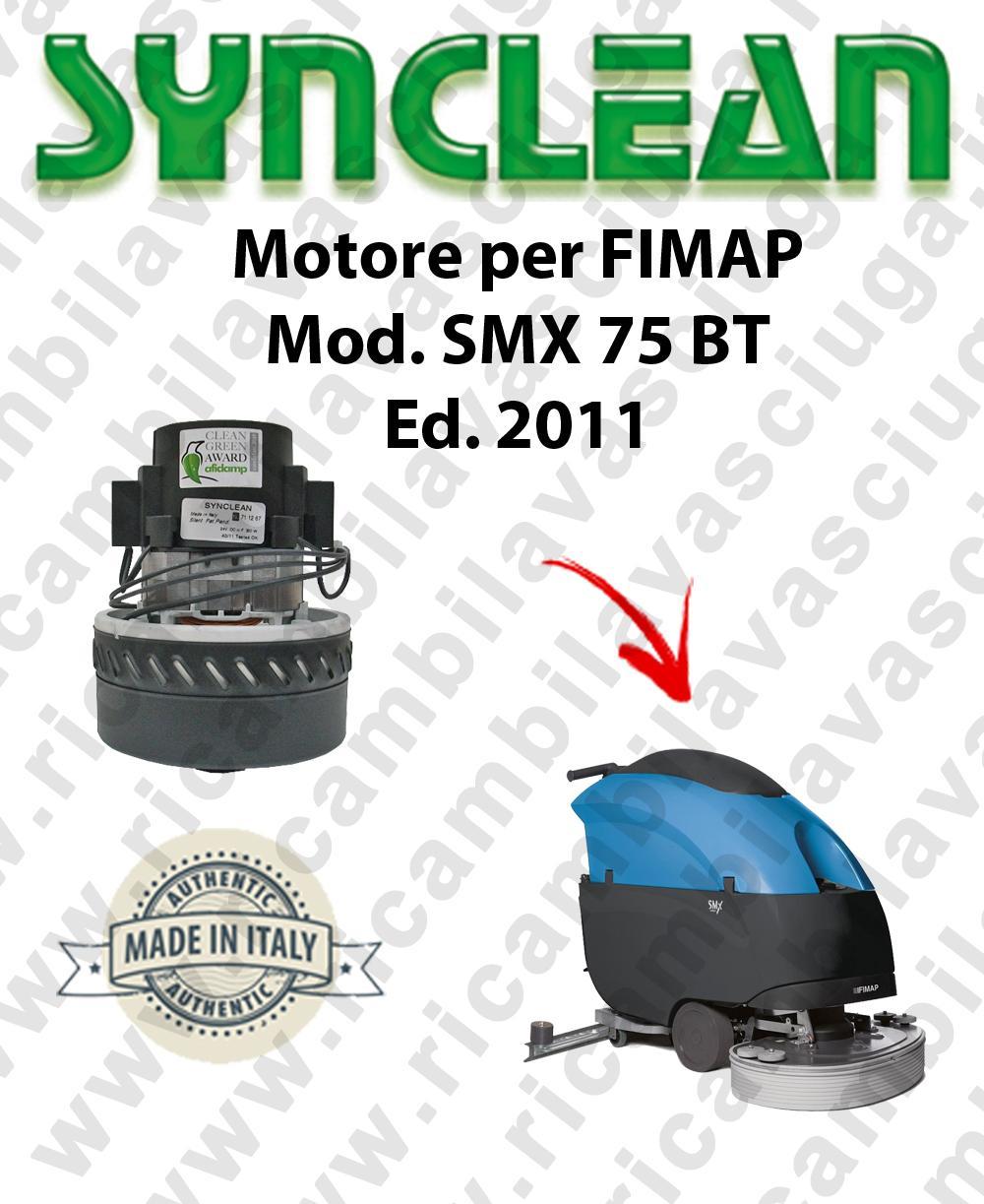 SMX 75 BT Ed. 2011 MOTORE aspirazione LAMB AMETEK lavapavimenti FIMAP