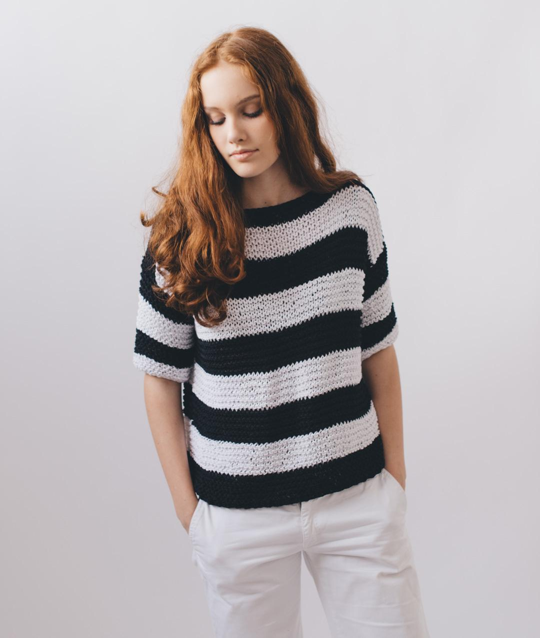Sweaters and Tops - Cotton - Elly Tee - 1