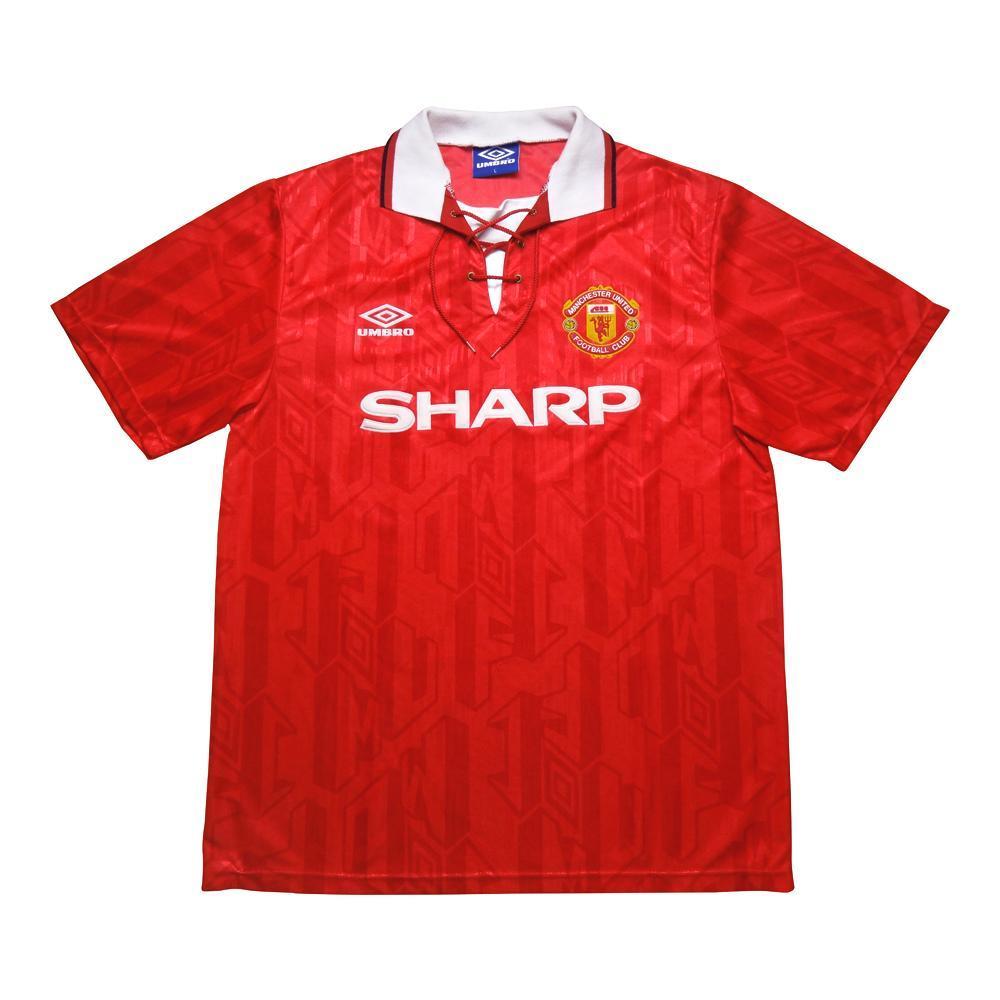 1992-94 Manchester United Maglia Home L (Top)
