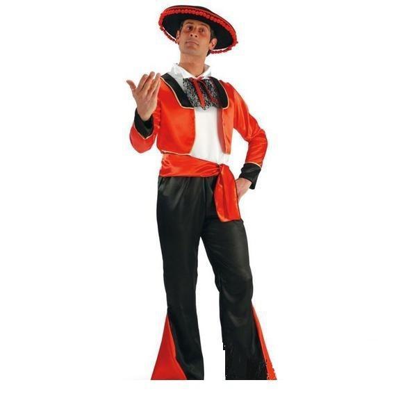 Costume uomo spagnolo joaquin tg m o l 25547 tuttogiochi d 39 amadio srls - Costume da bagno in spagnolo ...