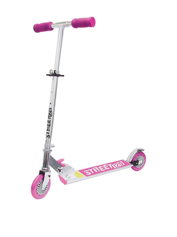 monopattino richiudibile sport one scooter street 120 rosa. Black Bedroom Furniture Sets. Home Design Ideas