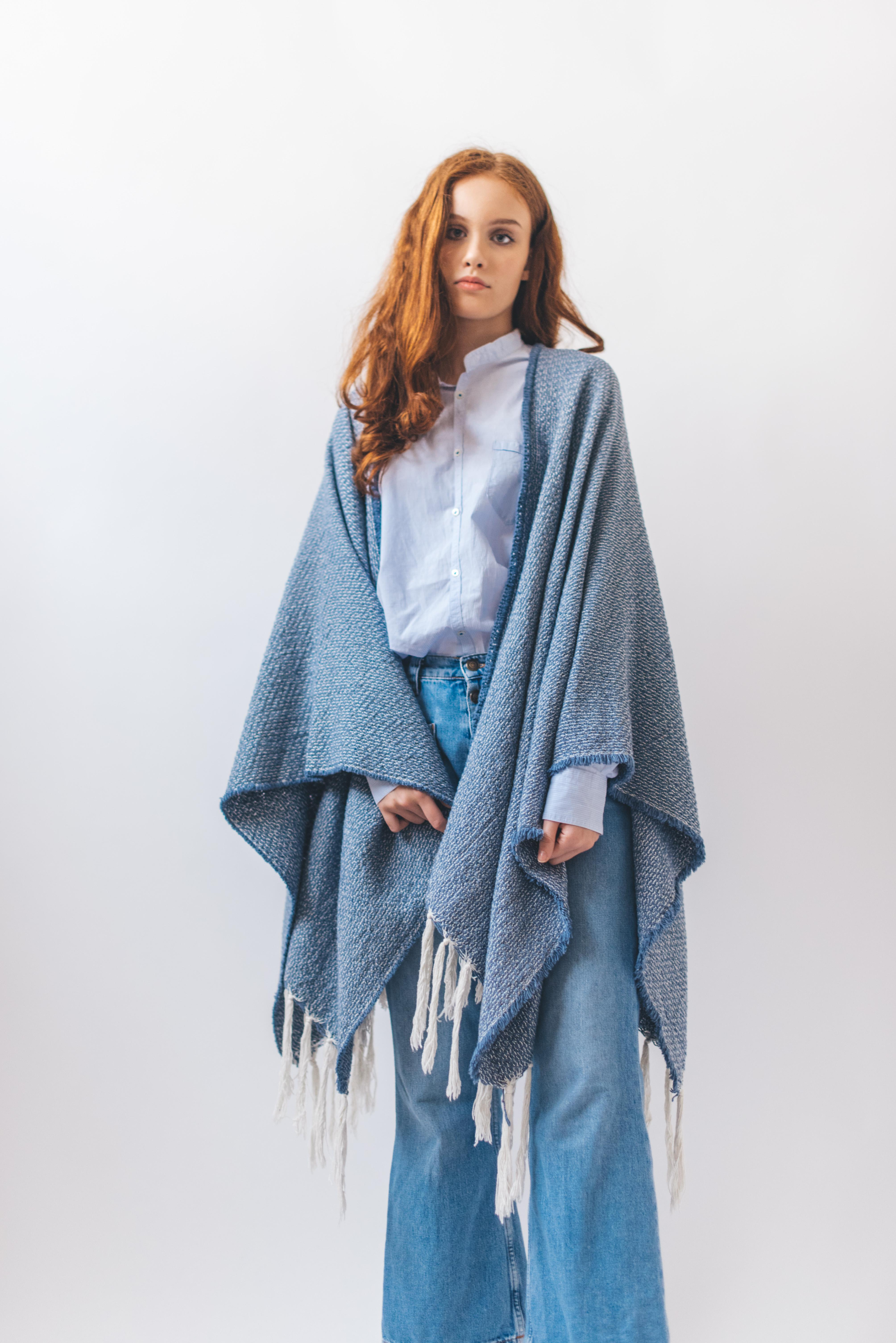 LIMITED EDITION - LIMITED EDITION - PONCHO DENIM - 1