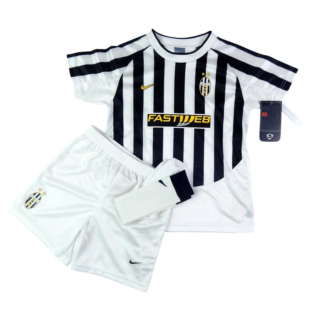 2003-04 Juventus Maglia Home Bambino *Cartellino