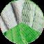 Perla - Verde Oliva - Verde Erba