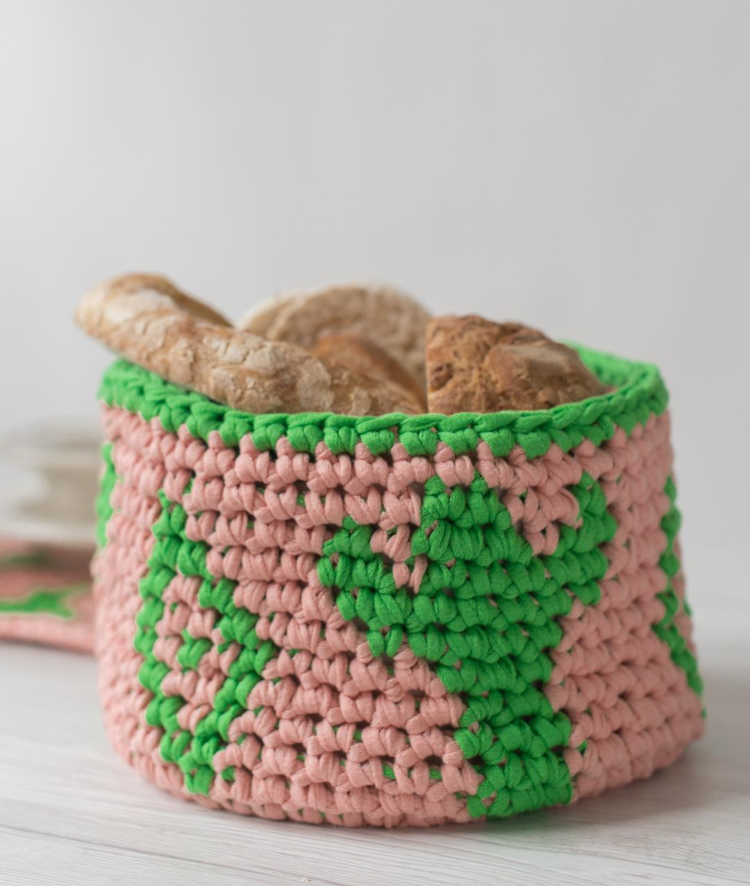Homeware - Cotton - CACTUS BASKET - 1