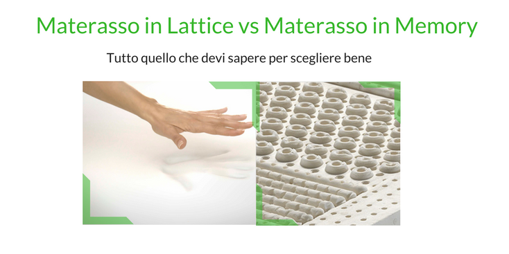Materassi In Lattice E Memory Differenze.Materasso Memory O Lattice La Guida Definitiva Che Stavi Cercando