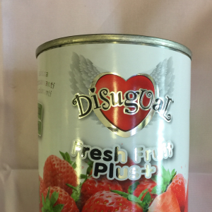 Disugual fresh fruit storione e fragole 400gr