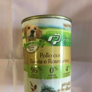 Professional pets pollo salvia e rosmarino 400g