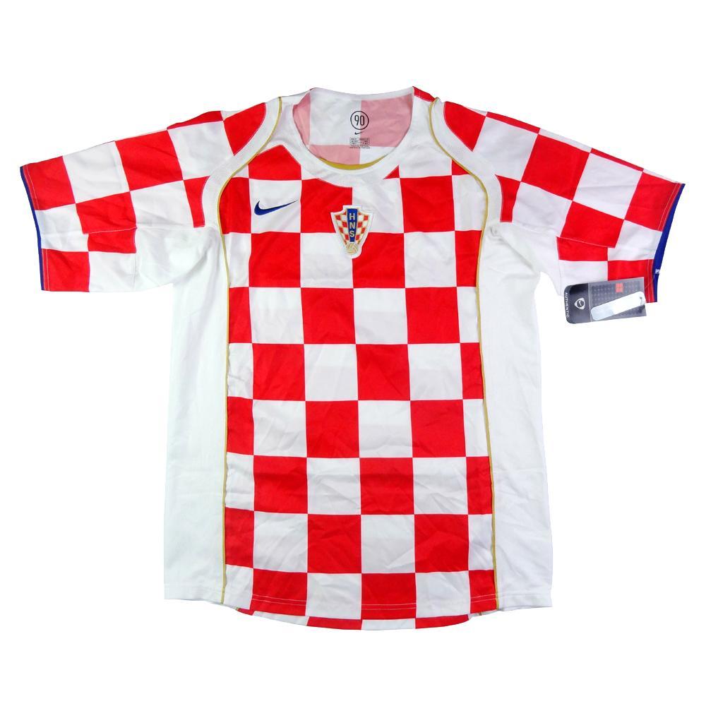 2004-06 Croazia Maglia Home *Cartellino e Confezione