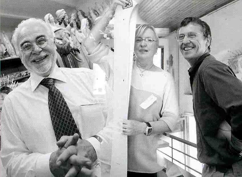 Luigino, Aurora e Ettore Pietrobon