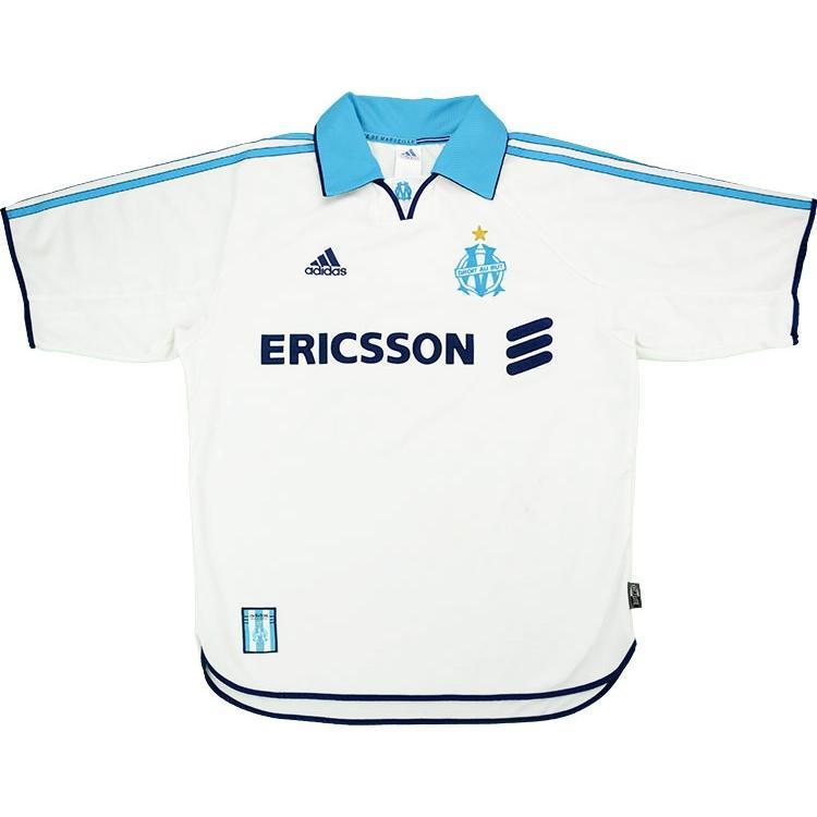 1999-00 Olympique Marsiglia Maglia Home M (Top)