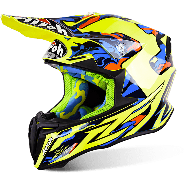 CASCO MOTO CROSS AIROH TWIST TC16 TWTC16