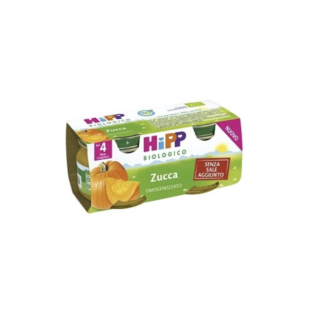 HIPP BIOLOGICO ZUCCA - OMOGENIZZATO DAL 4 MESE COMPIUTO
