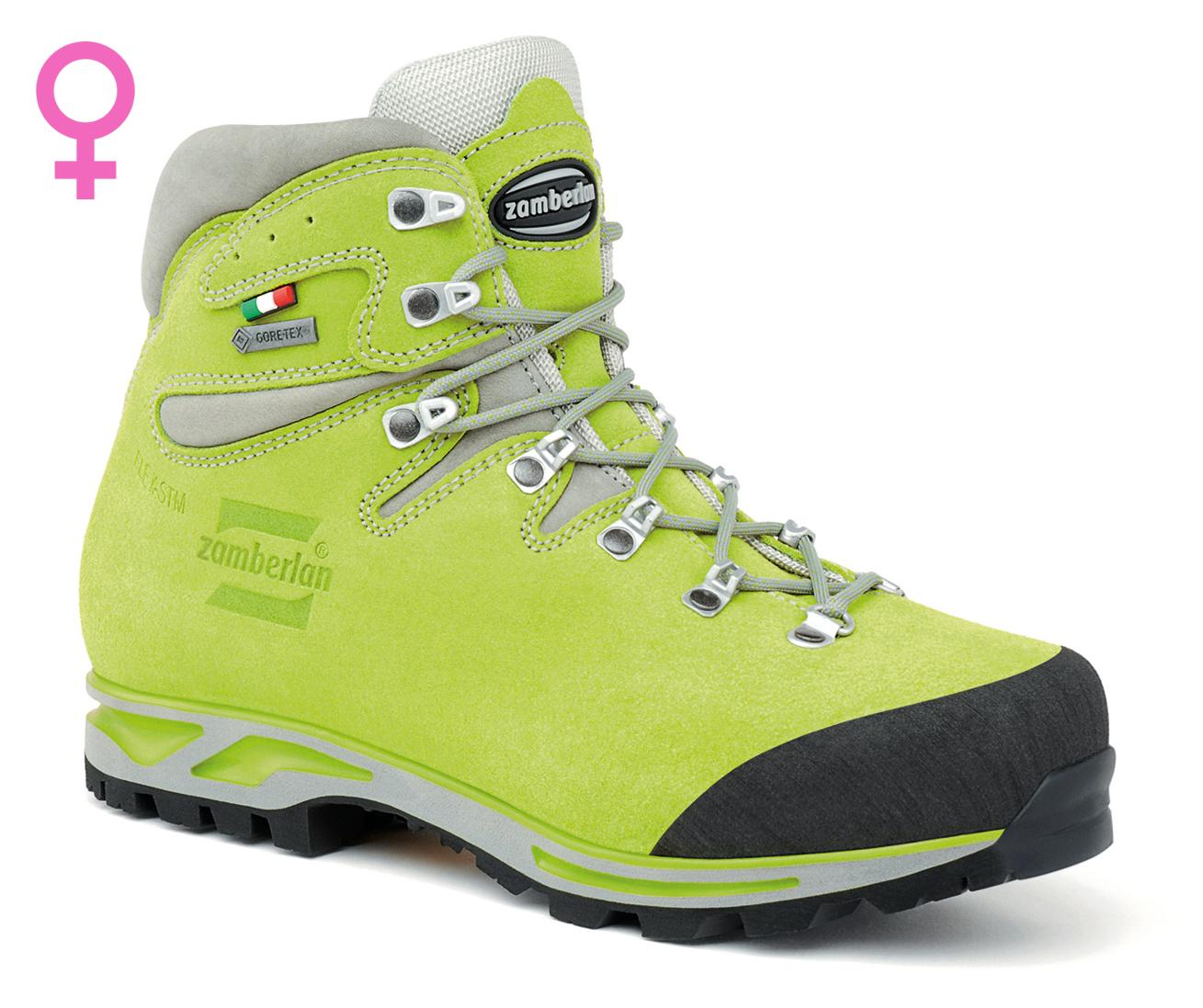 900 ROLLE GTX WNS   -   Bottes Hiking   -   Acid green