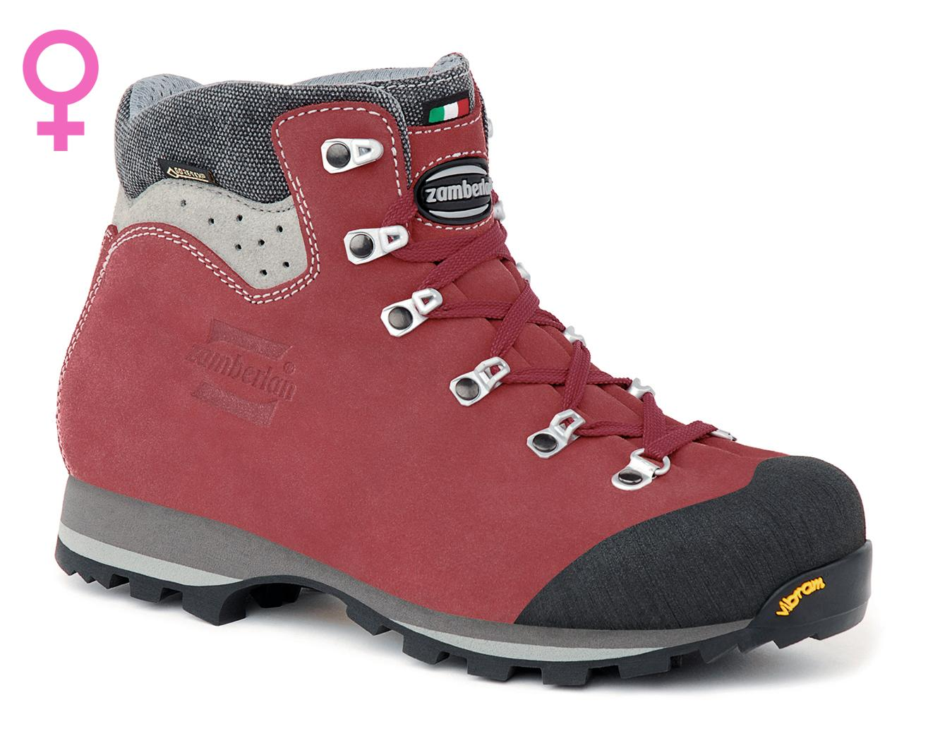 491 TRACKMASTER GTX WNS   -    Hiking Boots    -   Burgundy