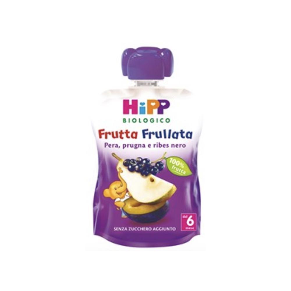 HIPP FRUTTA FRULLATA BIOLOGICA PERA PRUGNA E RIBES NERO - DAL 6 MESE COMPIUTO