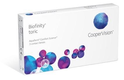 Biofinity Toric (3 lenti)
