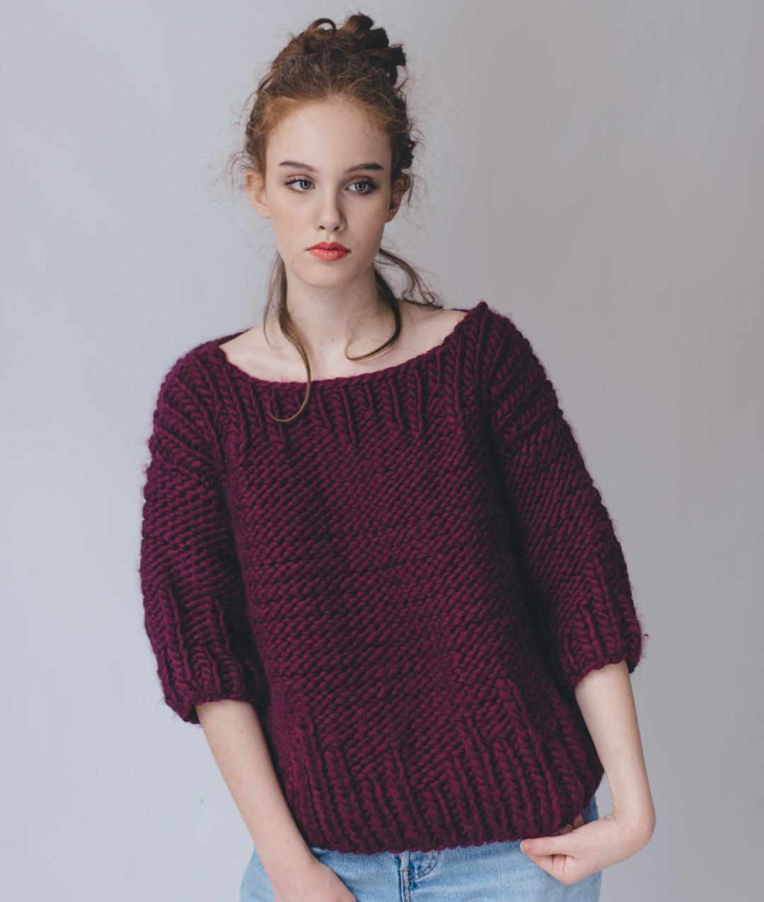 Sweaters and Tops - Wool - Beatrix Sweater - 1