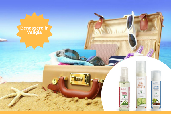Benessere in valigia: 6 prodotti da portare in vacanza