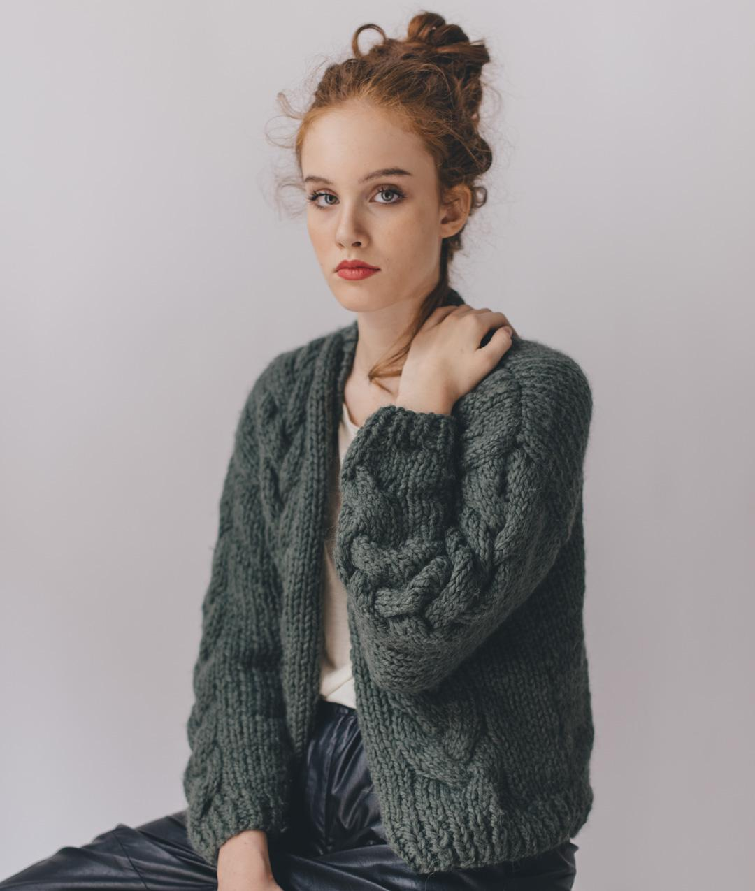Cardigans and Vests  - Wool - Becky Cardigan - 1