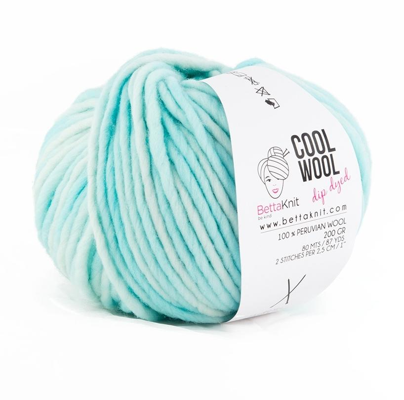 Cool Wool Dip Dyed