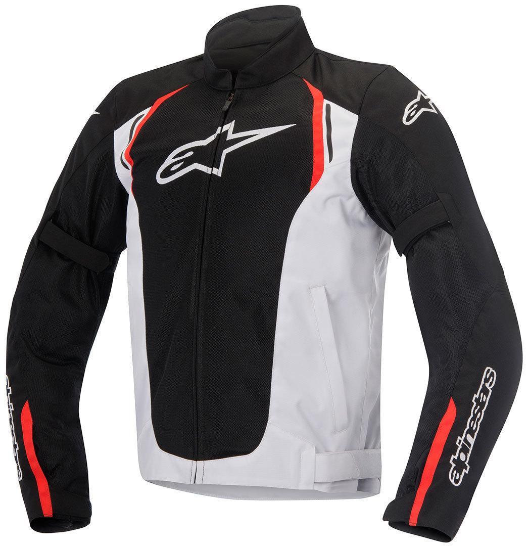 GIACCA MOTO ALPINESTARS AST AIR TEXTILE JACKET BLACK WHITE RED
