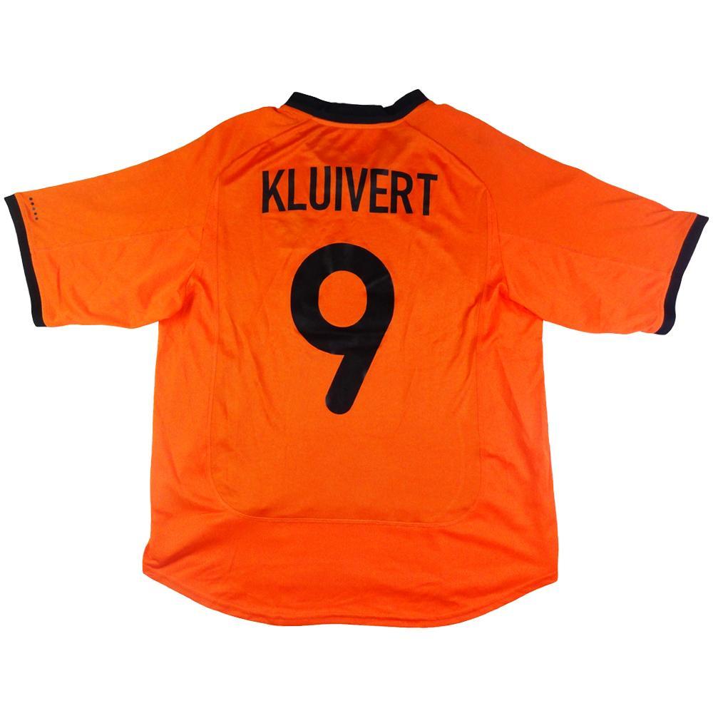 2000-02 Olanda Maglia Home #9 Kluivert L (Top)