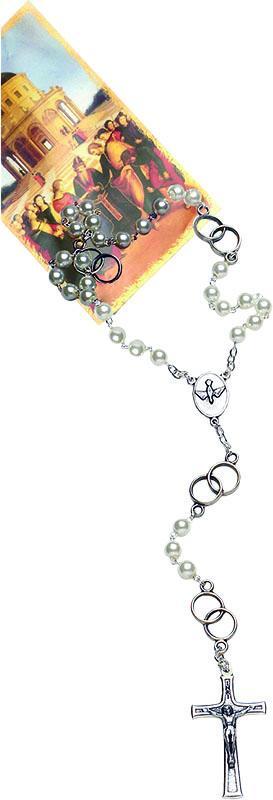 Corona rosario degli sposi