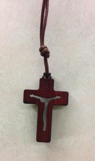 Croce legno con collino