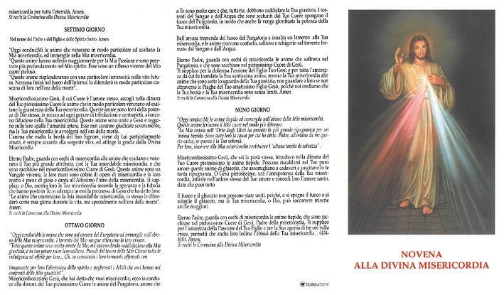 Novena Divina Misericordia (100 pz)
