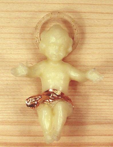 Gesù Bambino fosforo cm. 4