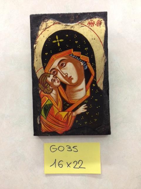 Icona greca dipinta