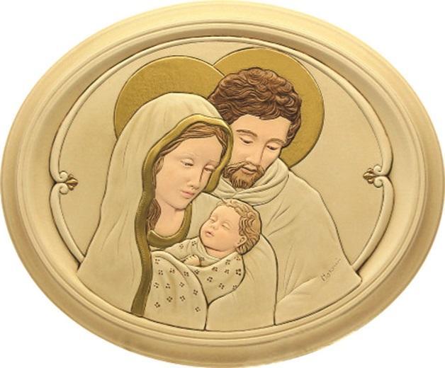 Quadro Sacra Famiglia 13x15,5