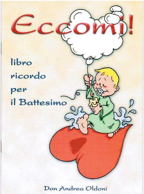 Libretto battesimo Eccomi