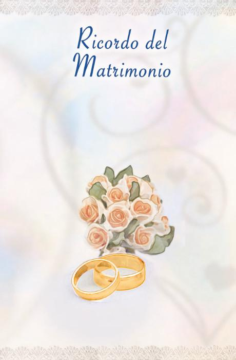 Libretto Ricordo Matrimonio