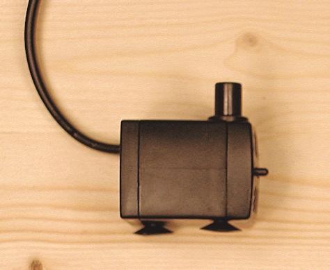 Pompa per fontanelle